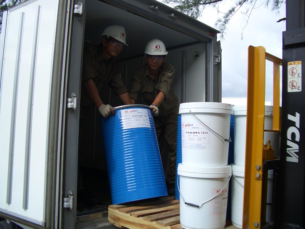 Sản phẩm keo bồi ống giấy NB 325 của chúng tôi luôn đảm bảo