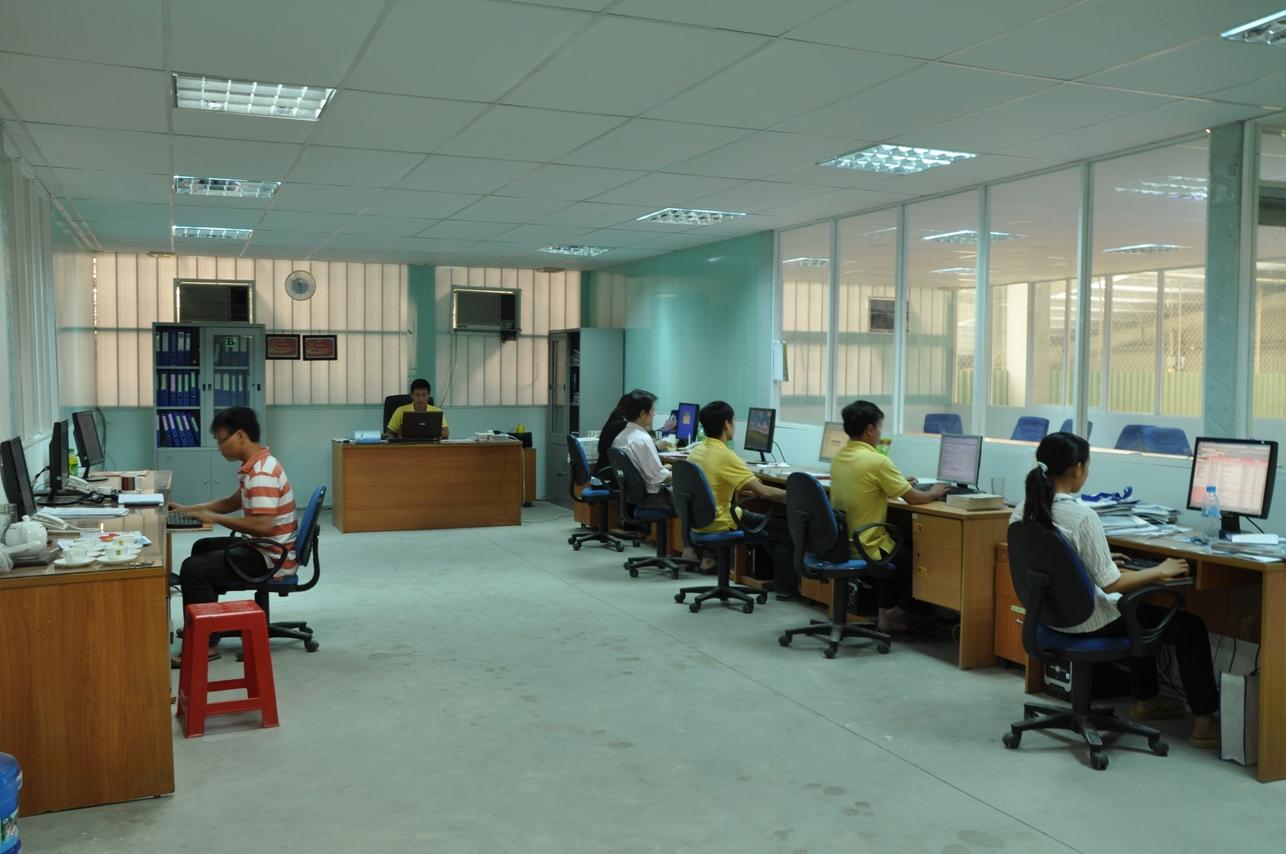Văn phòng làm việc C.ty Nanbao